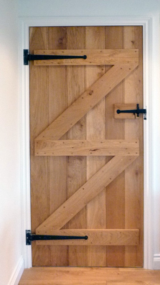 Finish Options for Oak Ledge & Brace Doors