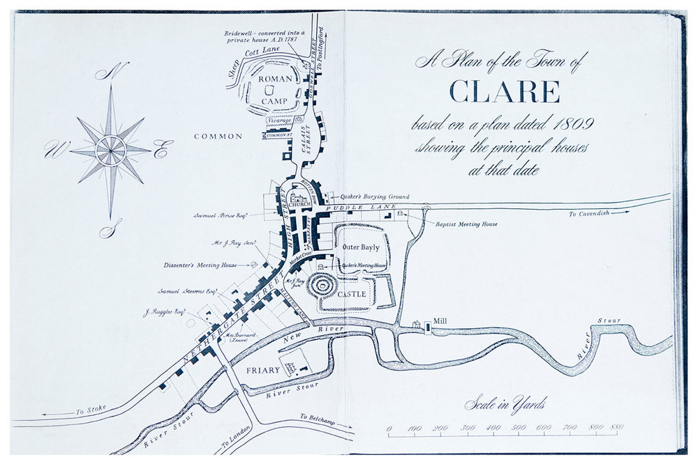 Map of Clare from 1809