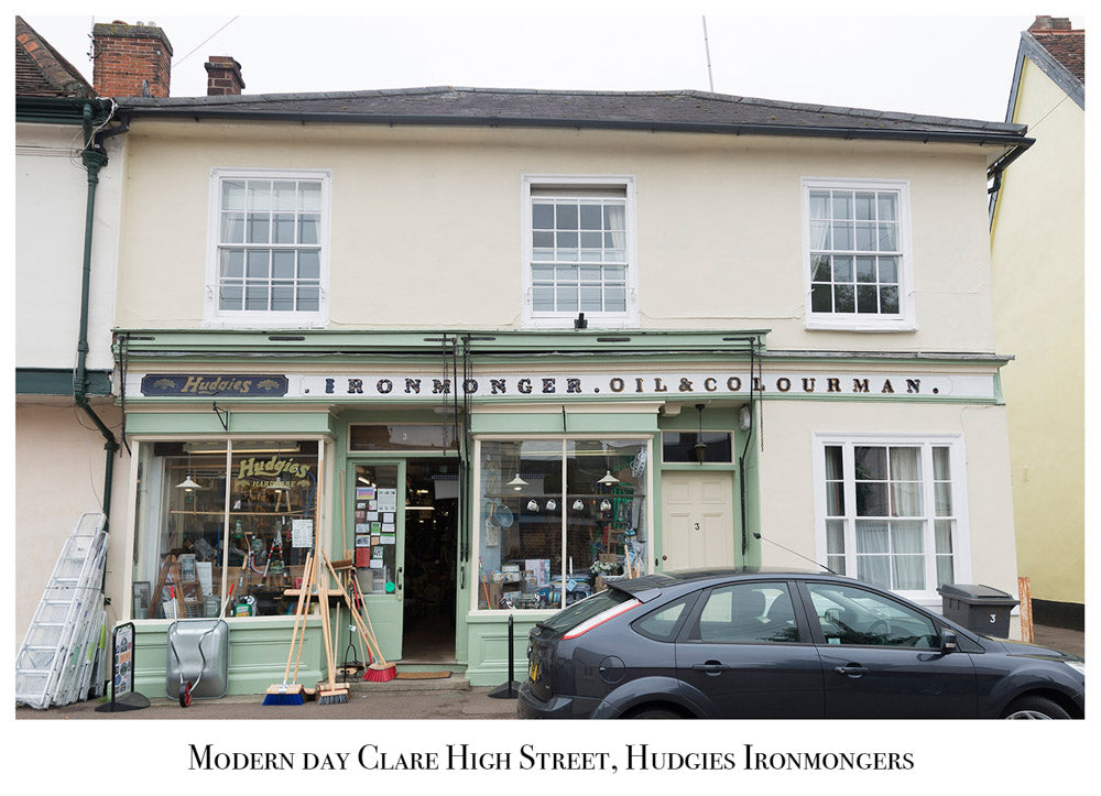 Hudgies Ironmongers Clare Suffolk Modern Day