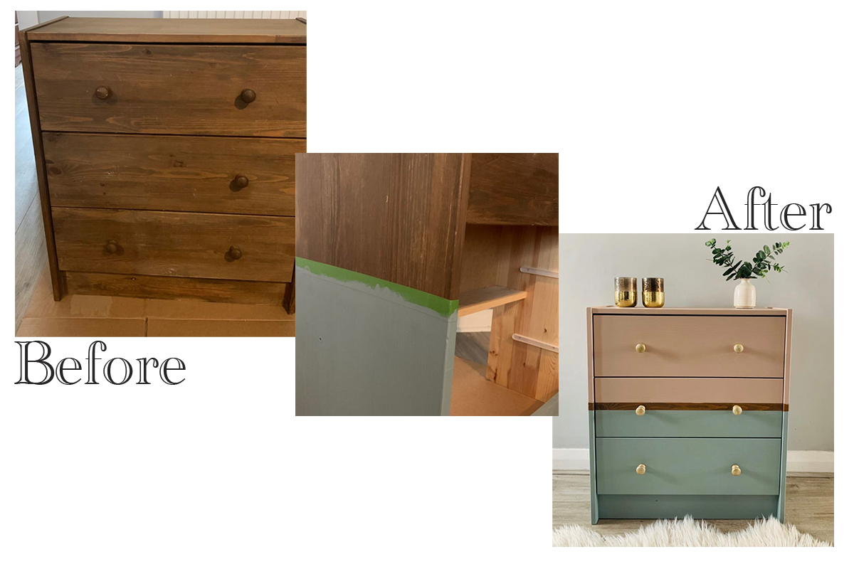 cabinet upcycling