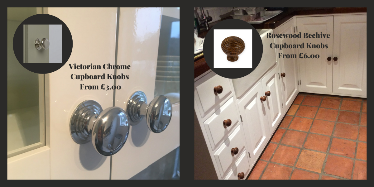 Cabinet Knob examplkes for Shaker Style Kitchens