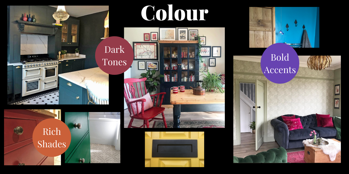 Colour interior trends 2021