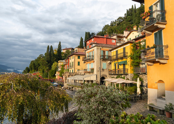 Colourful houses of Varenna, Lake Como