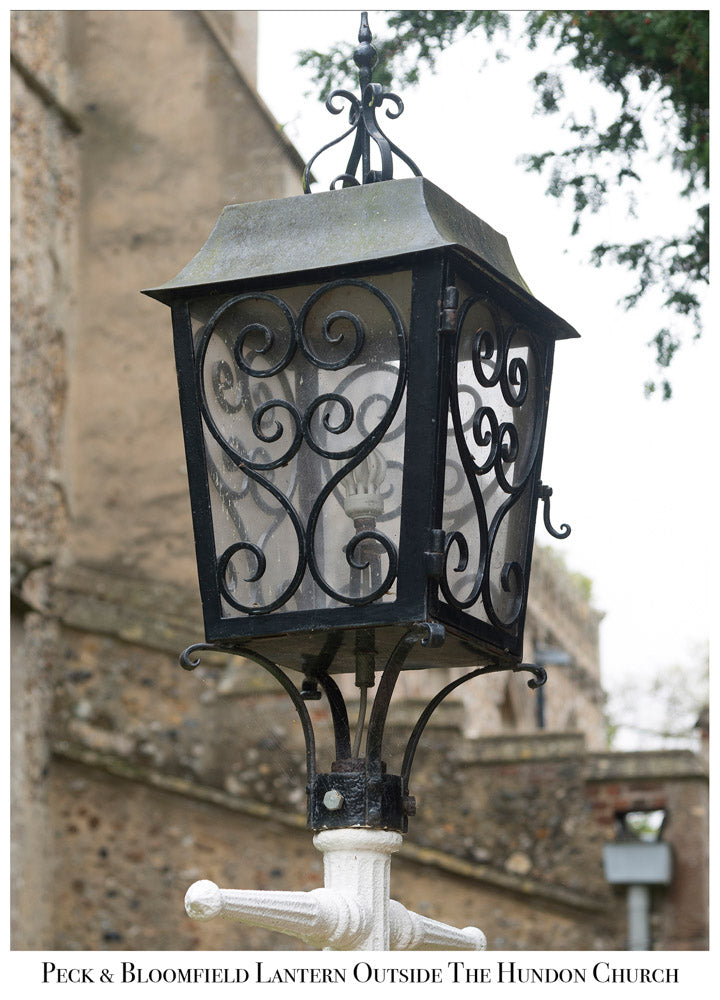 Peck and Bloomfield Church Lantern, Hundon, Modern Day