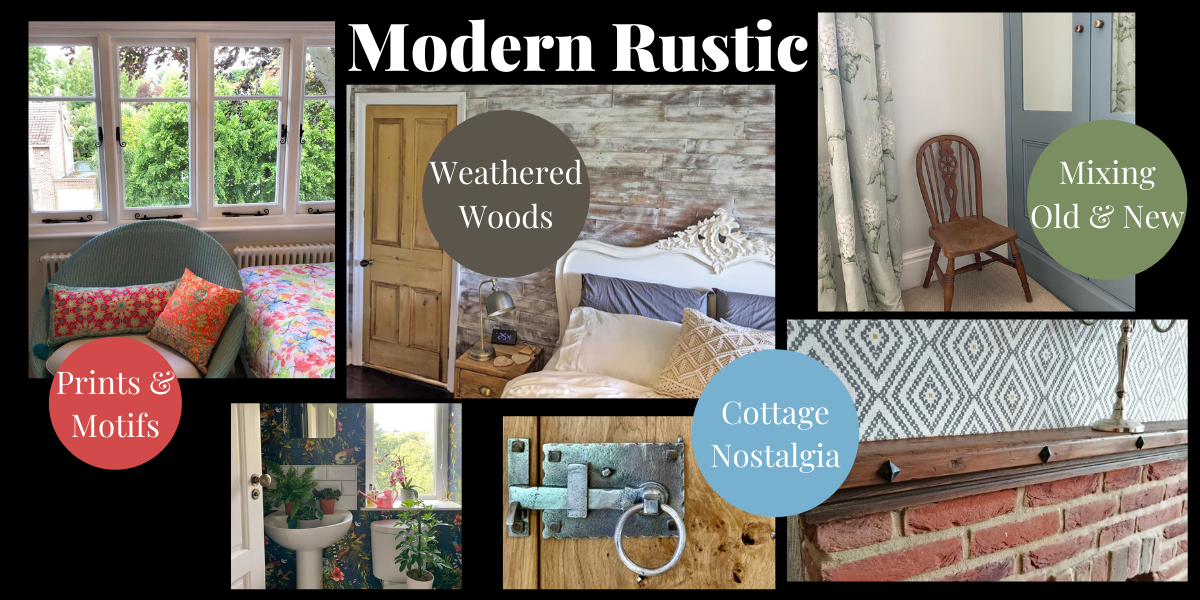 Rustic Chic Home Decor Trend 2021