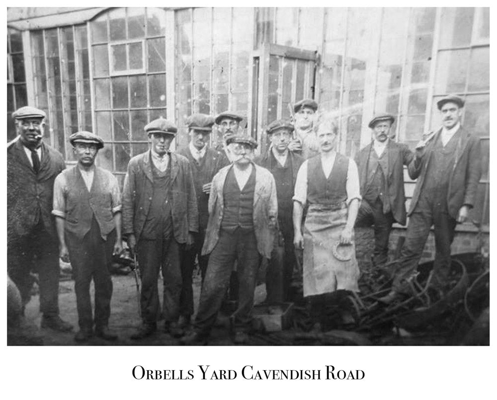 Old Image of Orbells Yard, Cavendish Road, Clare
