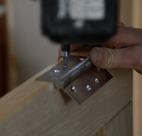 How to Hang a Door 09 | Suffolk Latch Company