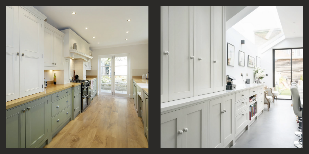Examples of Shaker Kitchens