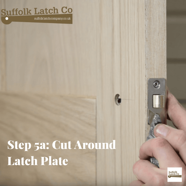 how to fit a tubular latch step 5