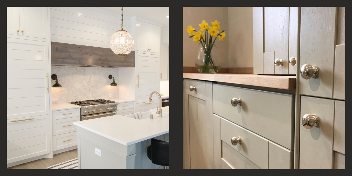 Examples of different kitchen cabinet furniture