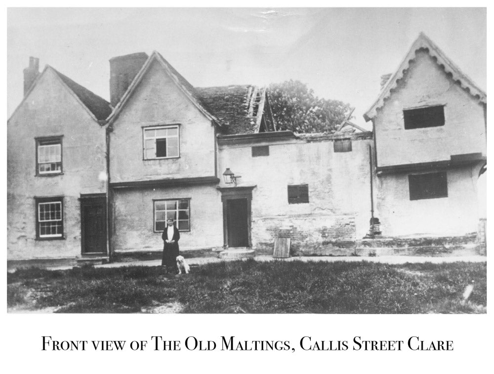 Old Maltings, Clare, Callis Street, Old Photograph