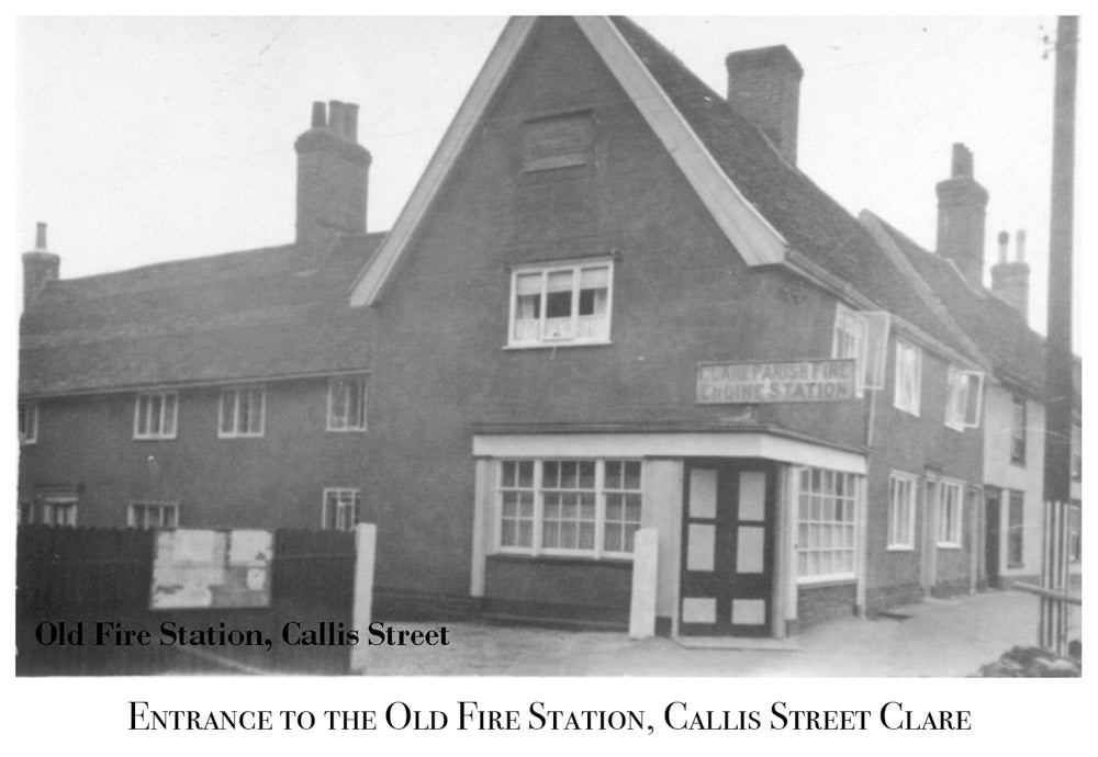 Old Fire Station, Callis Street Clare, Old Photograph