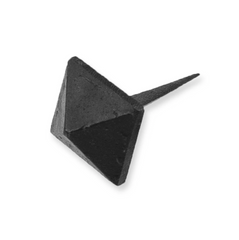 Black Pyramid Door Stud
