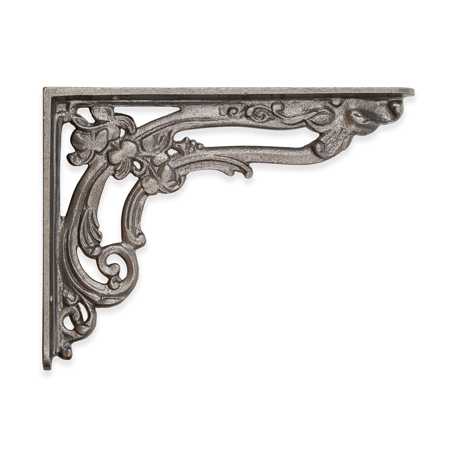 Cast Iron Shelf Bracket Apple Design