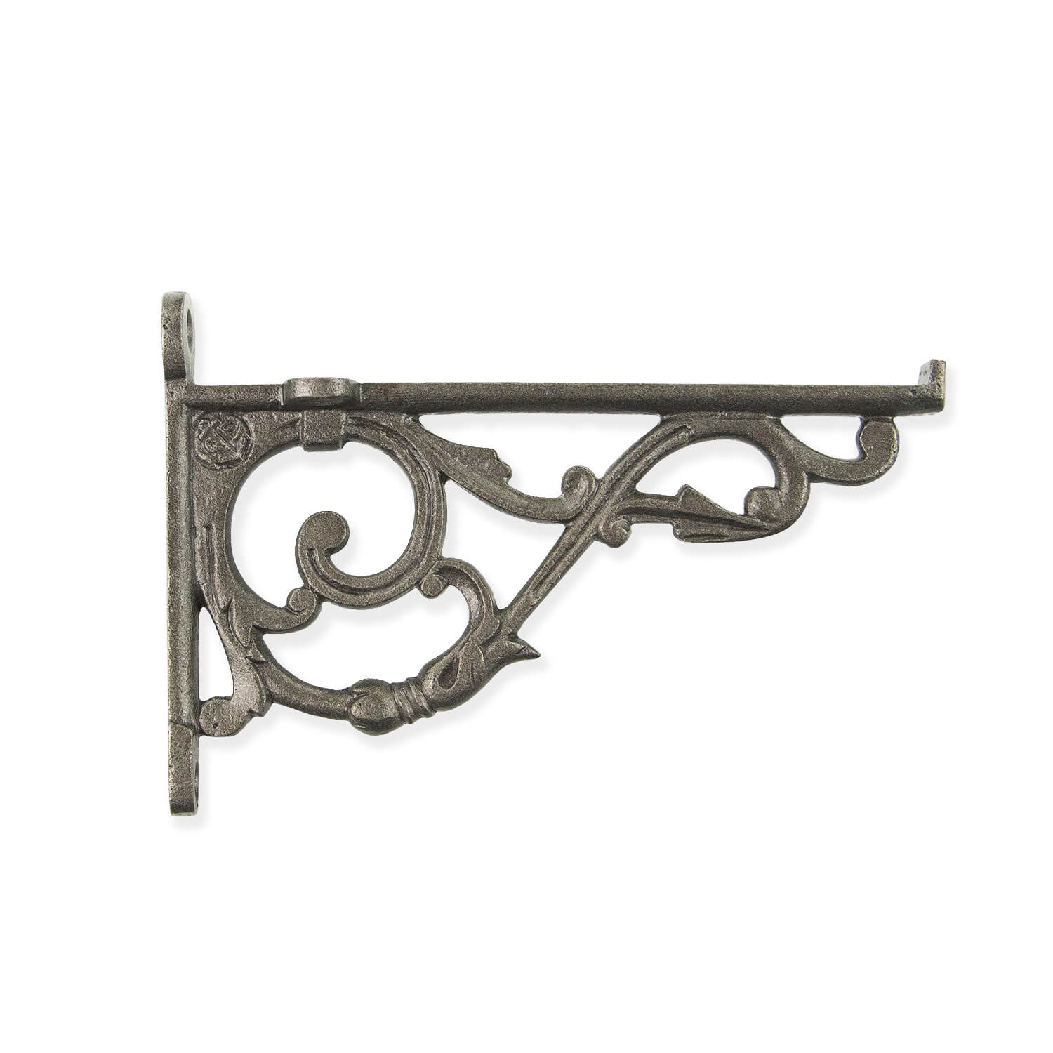 Anchor cast iron shelf bracket