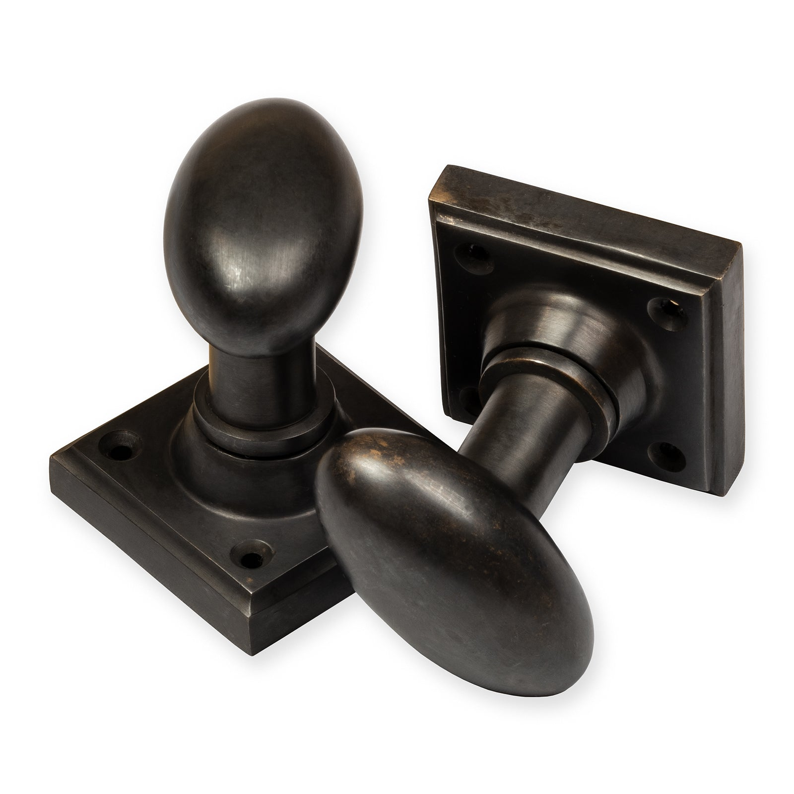 Oval Bronze Door Knob