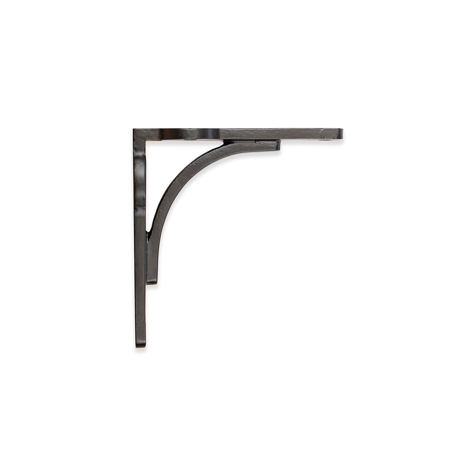 Classic Cast Iron Shelf Bracket in Black Finish
