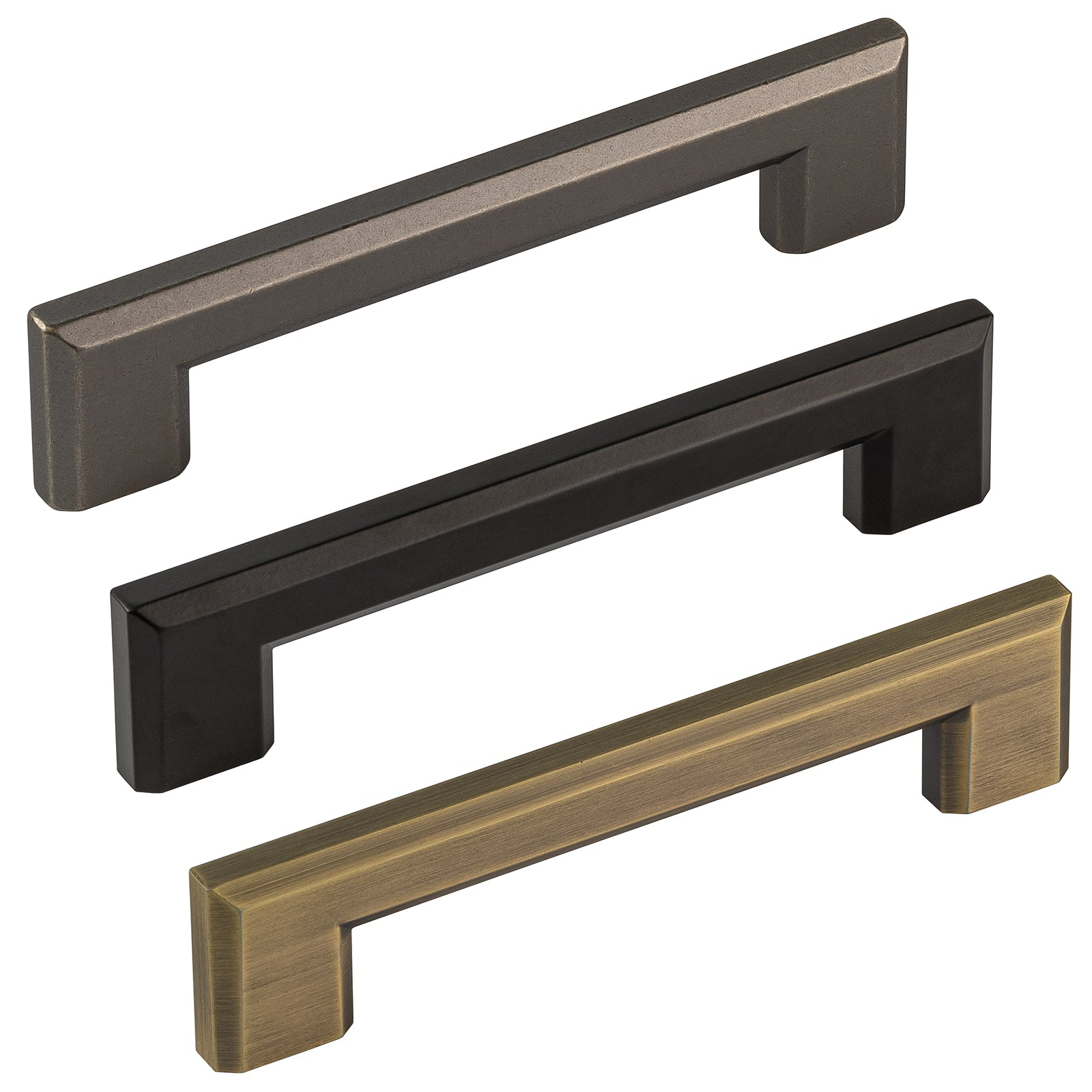 Binary Pulls from the Industrial Cabinet Furniture Collection