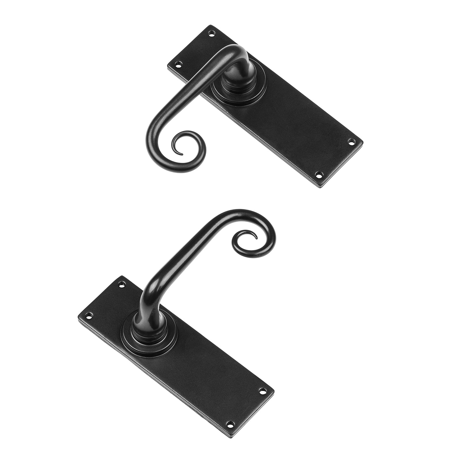 Curl Latch door handles SHOW