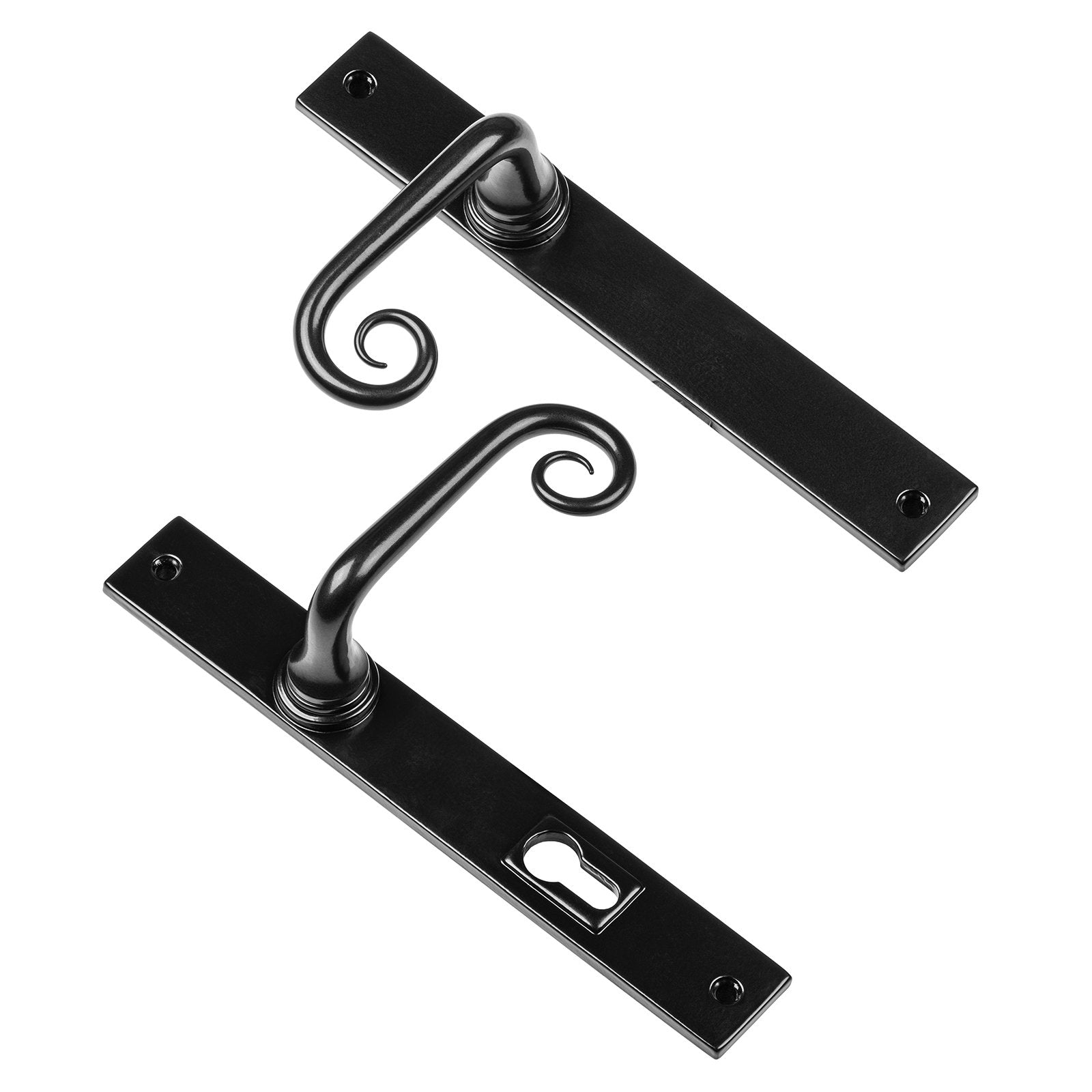 Curl multipoint patio door handles SHOW