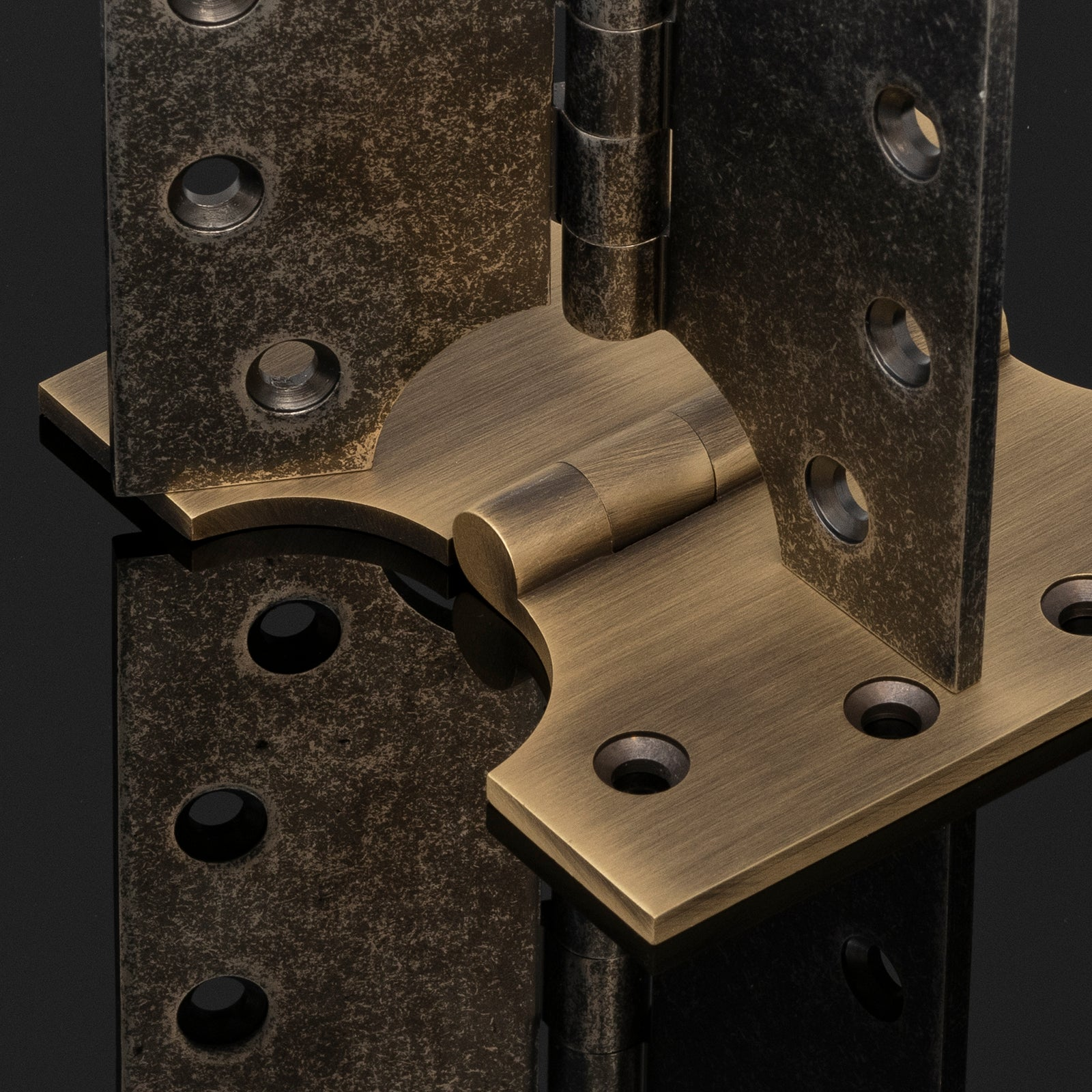 brass parliament hinges SHOW