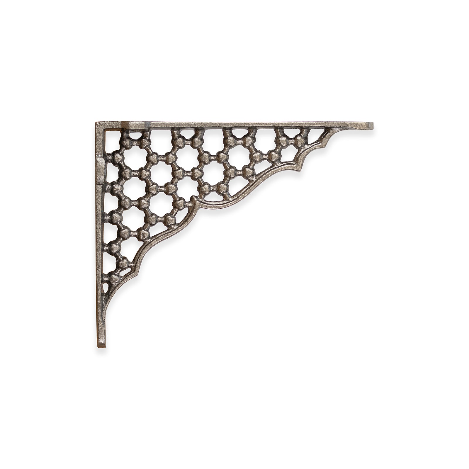 Cast Iron Shelf Bracket Honeycomb Design