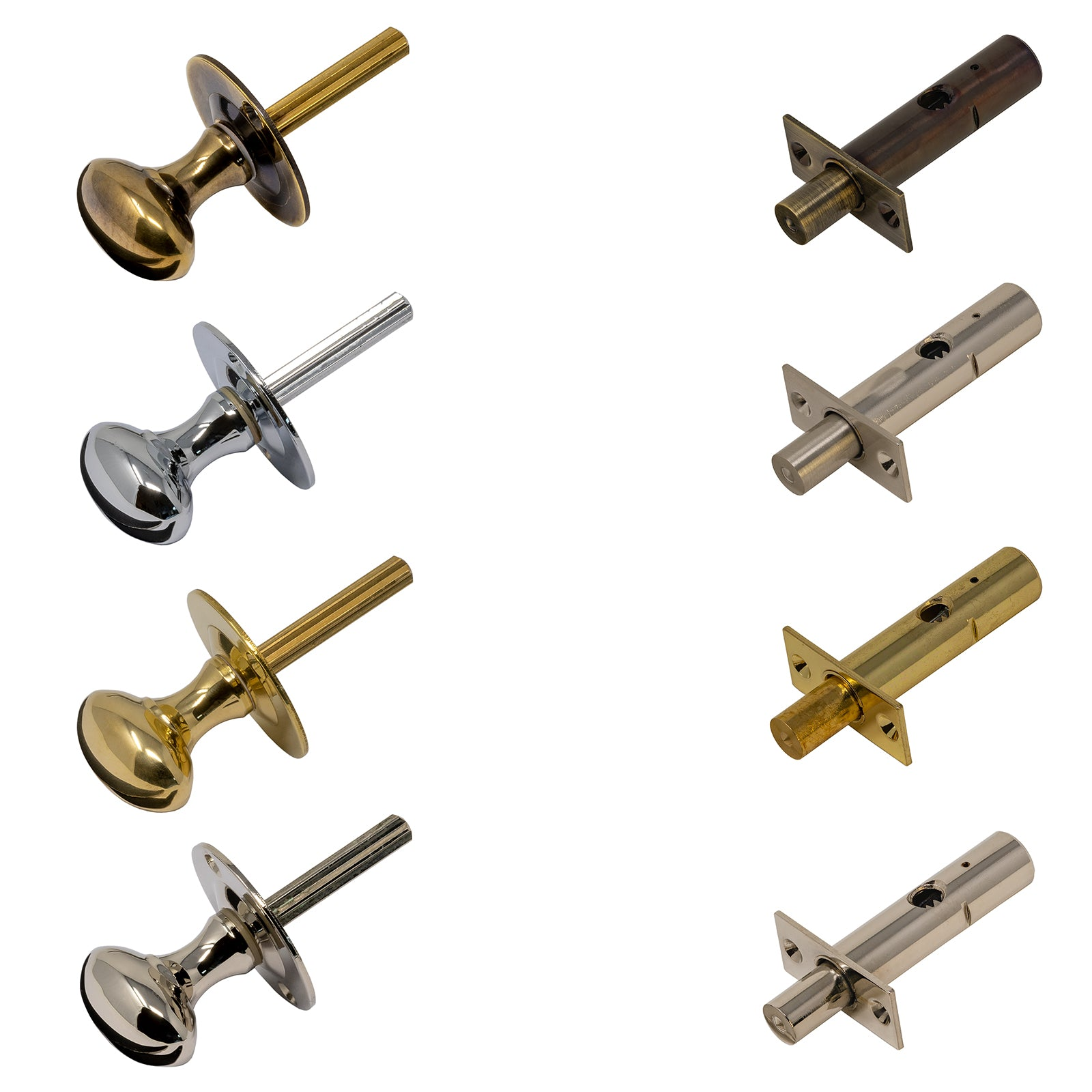 Rack Bolts & Rack Bolt Thumb Turns