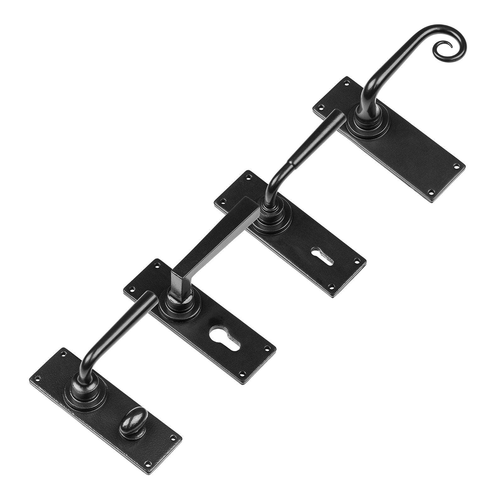Stonebridge Ironmongery Lever Handles with Armor-Coat