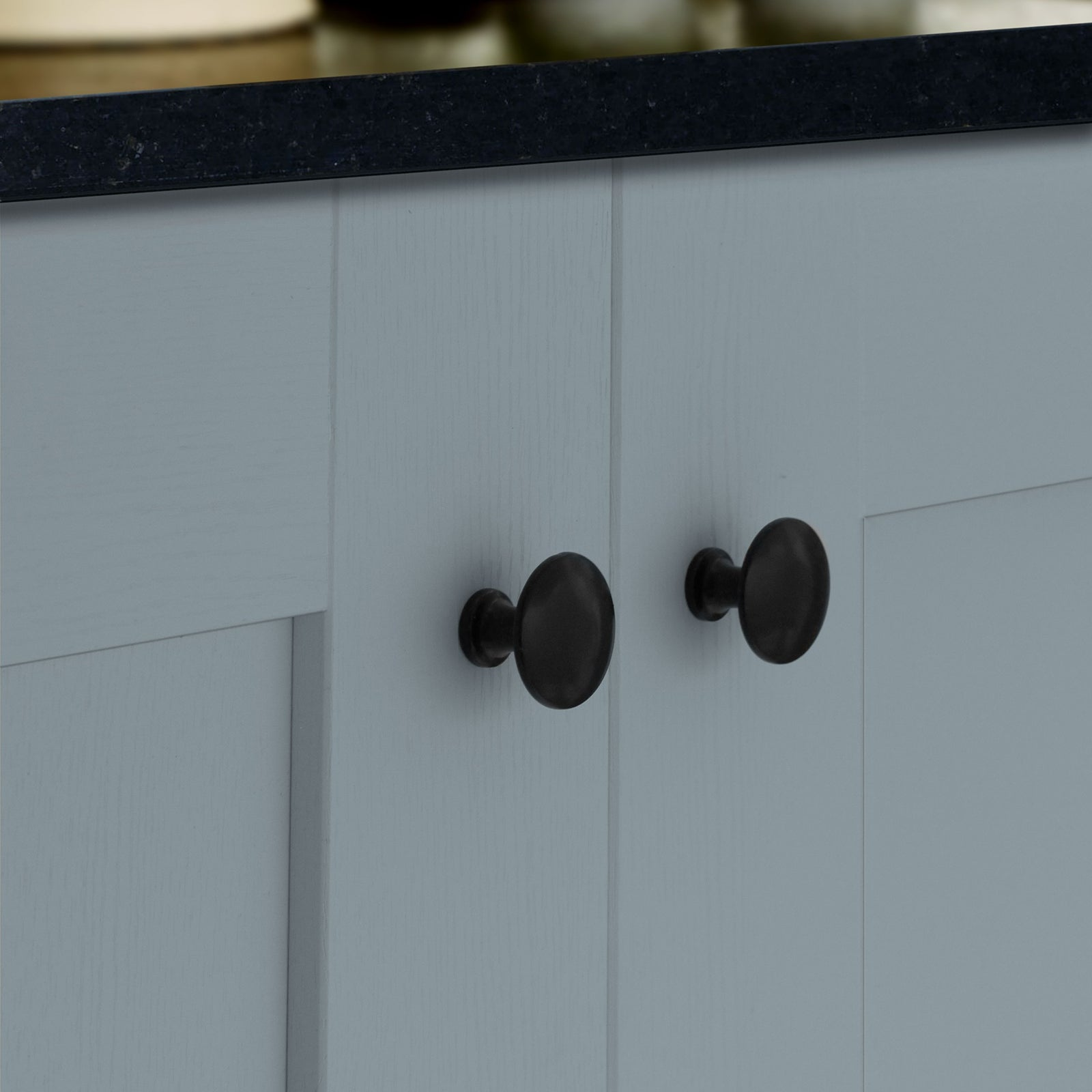 Black Cabinet Knobs SHOW