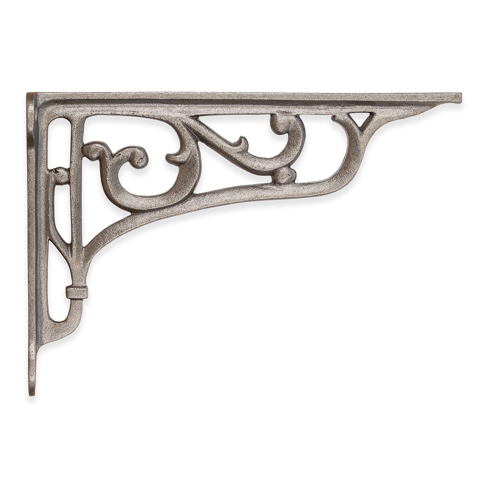 Victorian cast iron shelf bracket