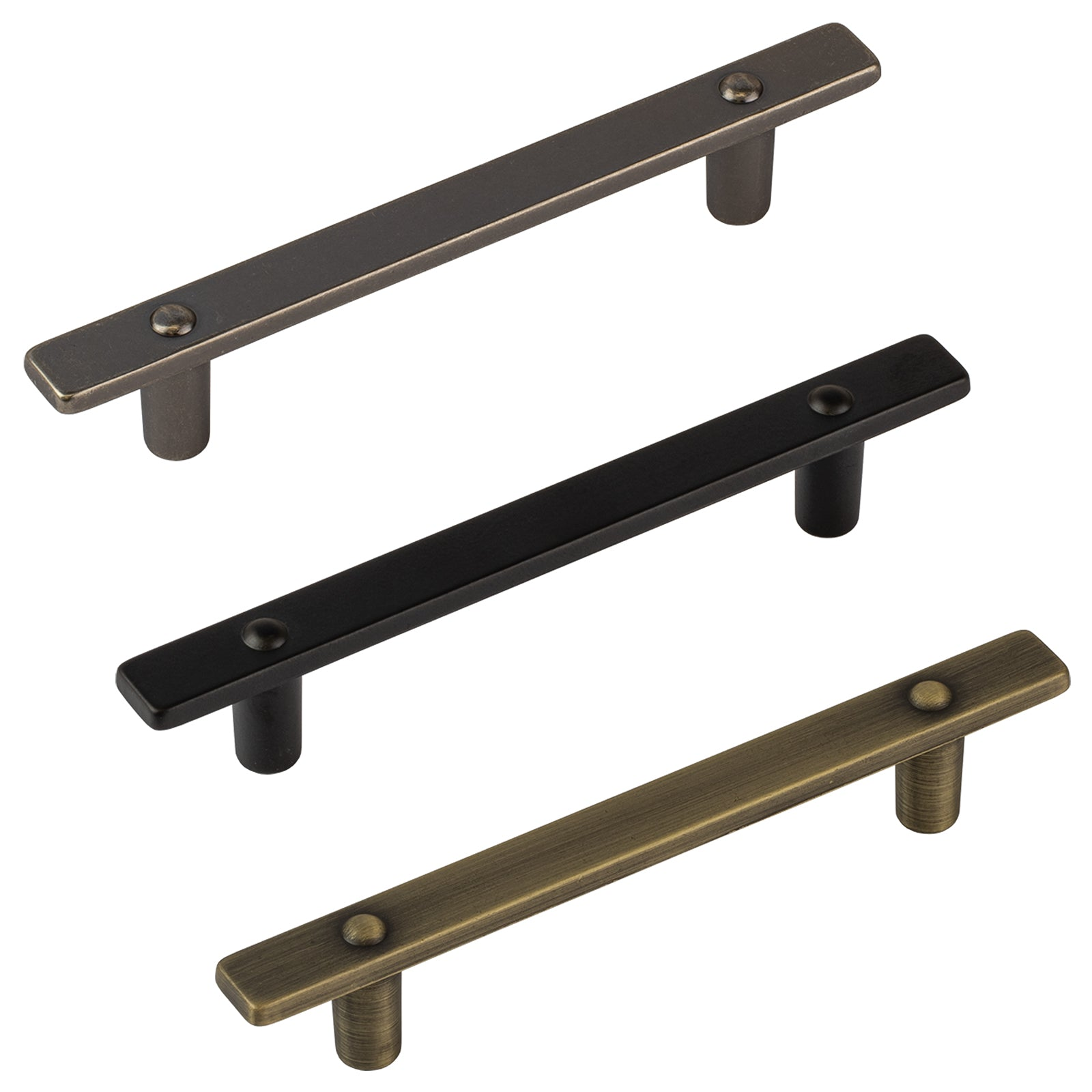 Lodge Pulls from the Industrial Cabinet Furniture Collection