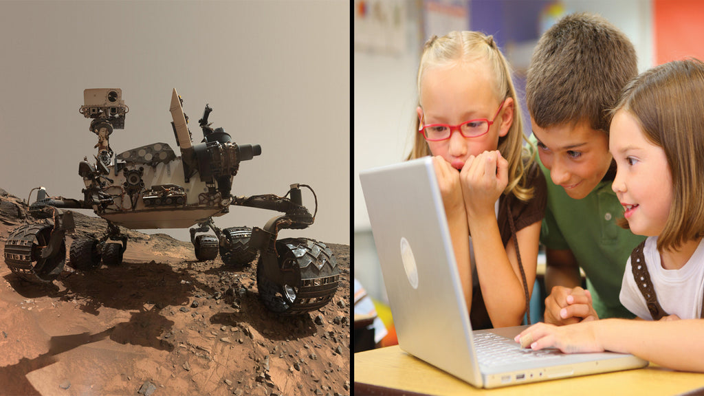 NASA's Latest Mars Discoveries and Technology's Role in the Lives of Children