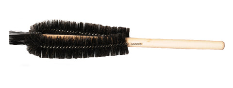 Black bristle beaker brush
