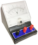 Voltmeter with a range of 0V to 5V and 0V to 15V