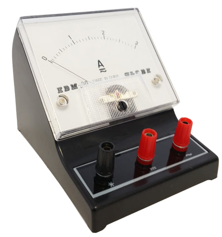 Ammeter with a range of 0A to 3A