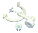 Burette Clamp, Fisher-Type, Polypropylene