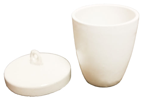 Porcelain Crucibles with Lids