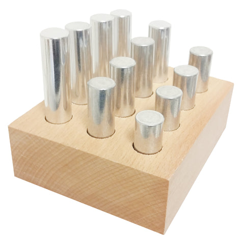 Density Rod Set - Twelve Aluminum Rods