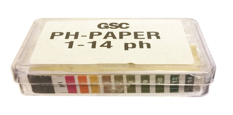 Wide-Range pH Test Paper, 1-14