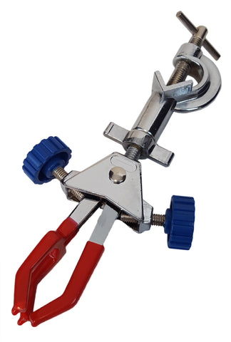 Universal Clamp, Three Prongs with Coated Jaws