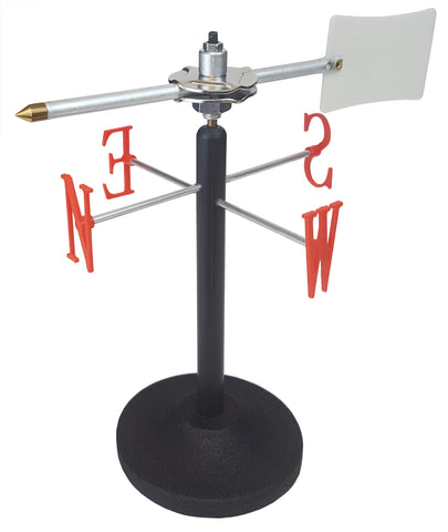 Wind Vane with Metal Base