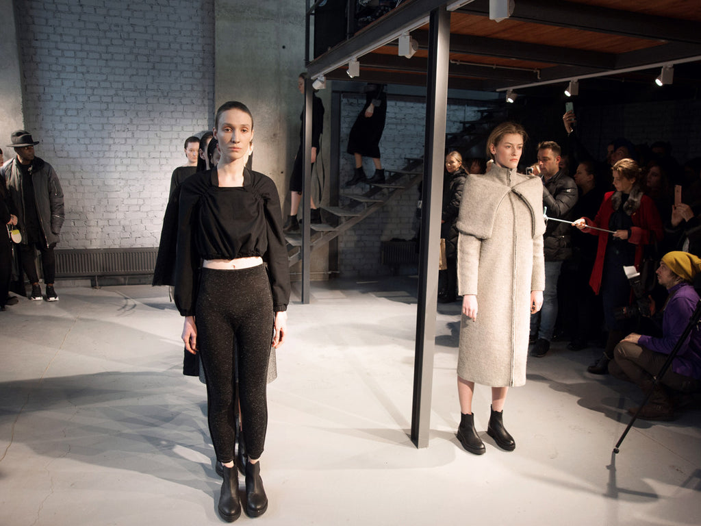 Runway: DZHUS Tectonic at Ukrainian Fashion Week