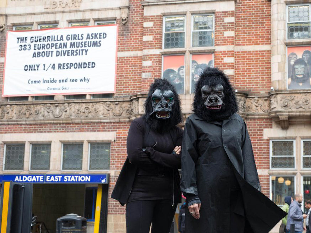 Guerrilla Girls Exhibit at the Whitechapel Gallery