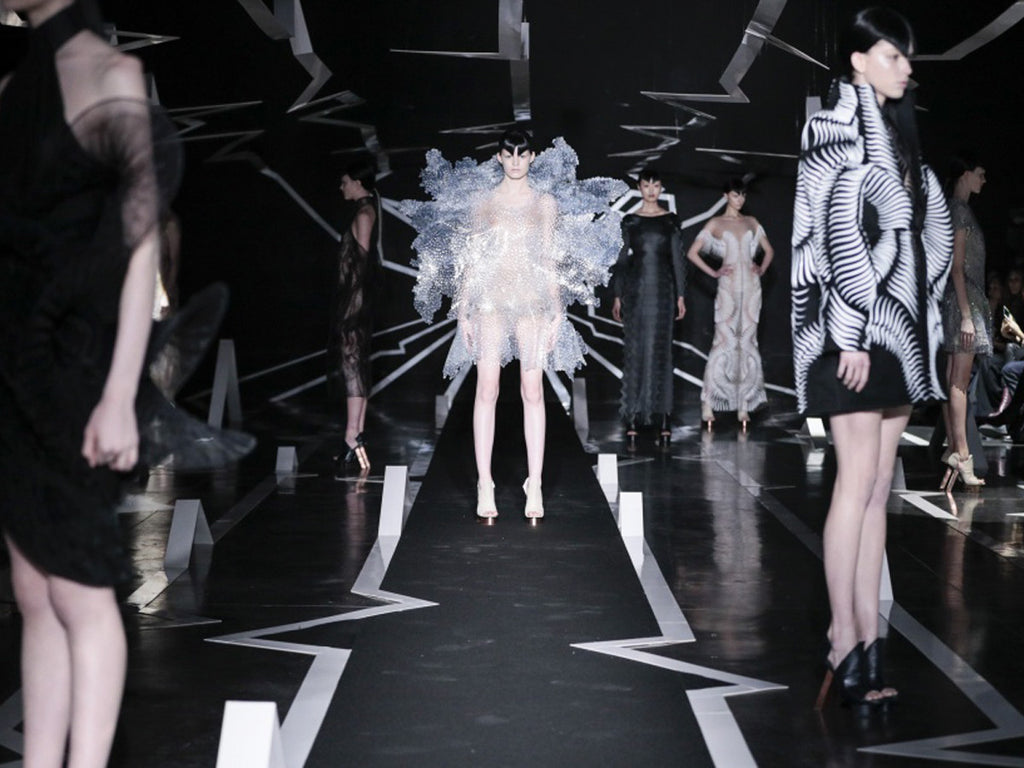 Between The Lines: Iris Van Herpen X Carolin Holzhuber