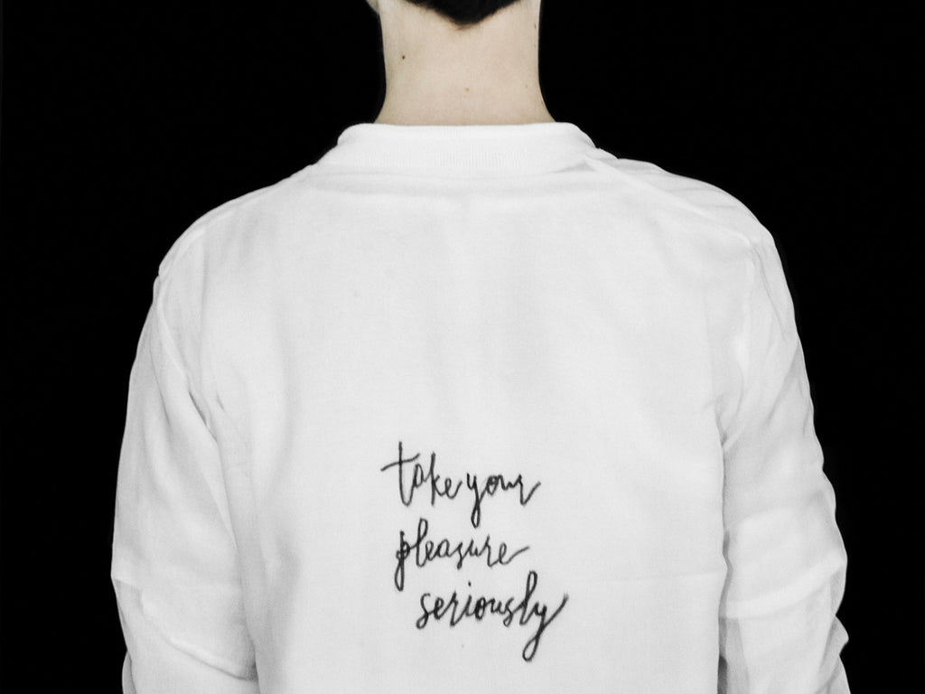 Susa Kreuzberger Take Your Pleasure Seriously SS17