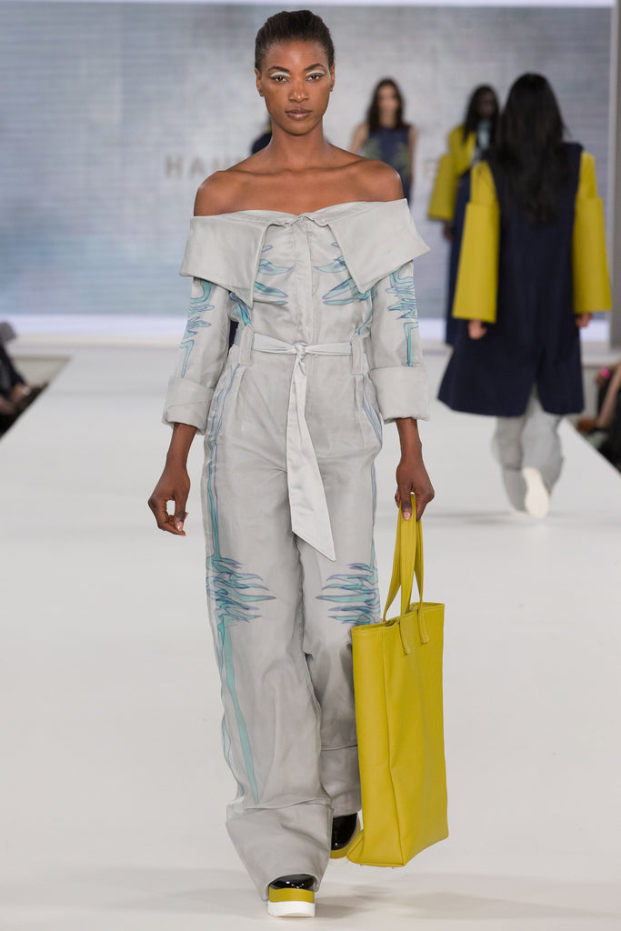 Graduate Fashion Week 2017: Birmingham City University Hannah Walker - Erebus