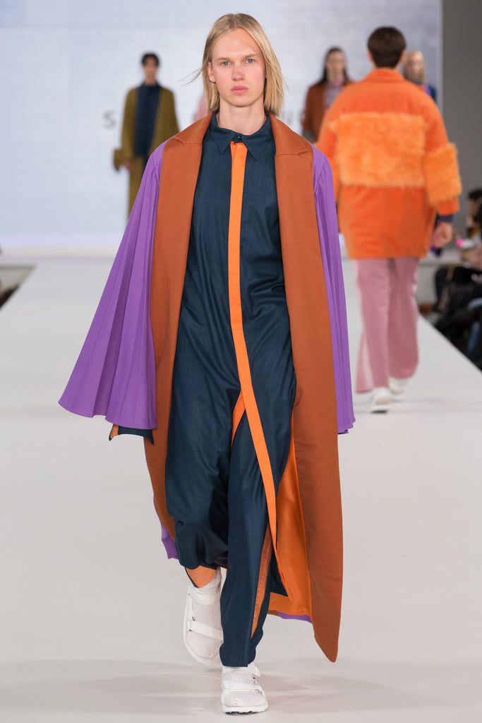 Graduate Fashion Week 2017: Birmingham City University Sean O'Connor - Erebus