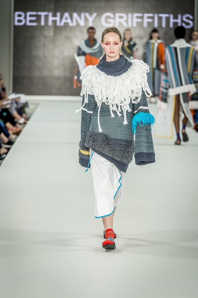 Graduate Fashion Week 2017: De Montfort University Bethany Griffiths - Erebus