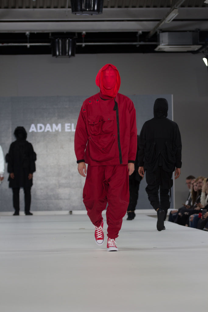 Graduate Fashion Week 2017 Ravensbourne Adam Elyasse Photo by Claire Mcintyre - Erebus