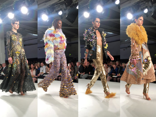 University of Creative Arts UCA Epsom Graduate Fashion Week Ellie-Grace Frost - Erebus
